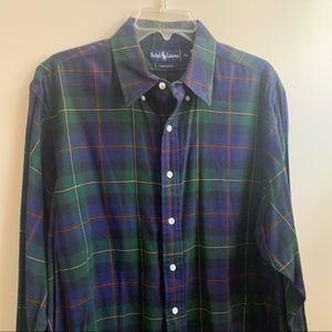 Ralph Lauren Men's button down flannel shirt XL